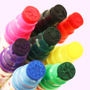 novelty colouring pens