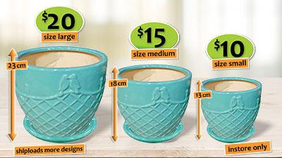 Ceramic pots 74117