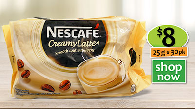 nescafe 3 in 1 satchets